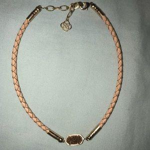 Kendra Scott rose gold choker necklace